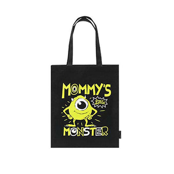 Pixar Monster Eco bag - B (Black)_F