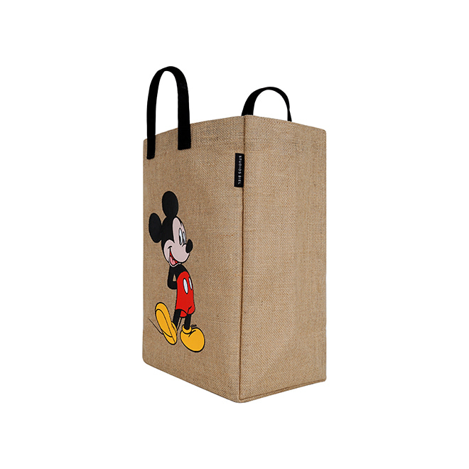 Mickey Shopper Bag(Black)_F